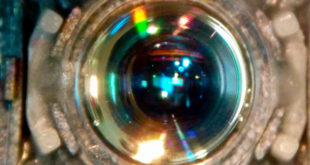 Gas jets make beautiful lens for light we can't normally focus