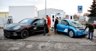 BMW, Porsche Boast Three-Minute Charging for Electric Vehicles